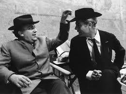 Fellini e Mastroianni