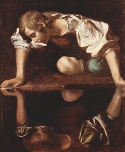 Caravaggio, Narciso (1594-1596)