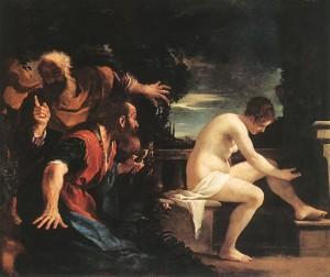 Guercino, Susanna vecchioni