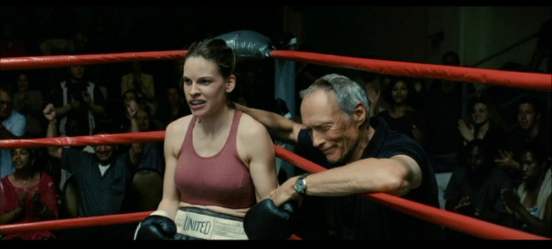 a Clint Eastwood Million Dollar Baby DVD Review PDVD_012