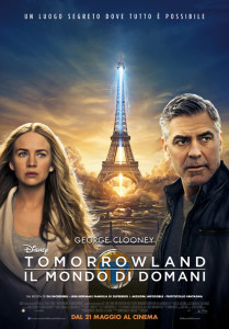 tomorrowland poster italiano