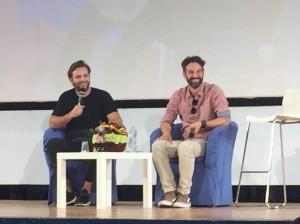 Alessandro Borghi e Manlio Castagna