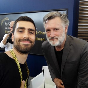 With Bill Pullman