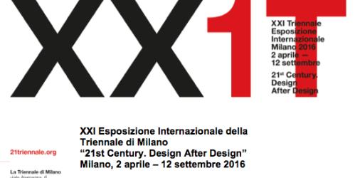 In occasione della XXI Esposizione Internazionale della Triennale di Milano dal titolo 21st Century. Design After Designprende avvio un'importante collaborazione che vedrà protagonisti la Fondazione Milano – Civica Scuola di […]