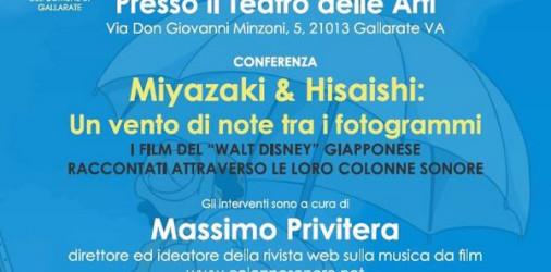 Per riscoprire dieci capolavori di Hayao Miyazaki grazie alle musiche firmate dal pluripremiato compositore Joe Hisaishi, Massimo Privitera, il direttore di ColonneSonore.net – prima ed unica rivista italiana di musica […]