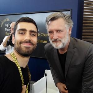 With Bill Pullman