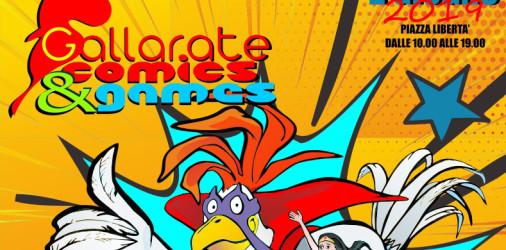 Giunto alla quinta edizione, il Gallarate Comics&Games 2019sarà caratterizzato da un susseguirsi di incontri con autori, illustratori ed esperti nel settore, nei giorni 31 Maggio e 01 Giugno, dalle ore […]