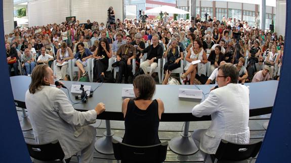 Photo of Conversazioni con gli ospiti al Locarno Film Festival 2012