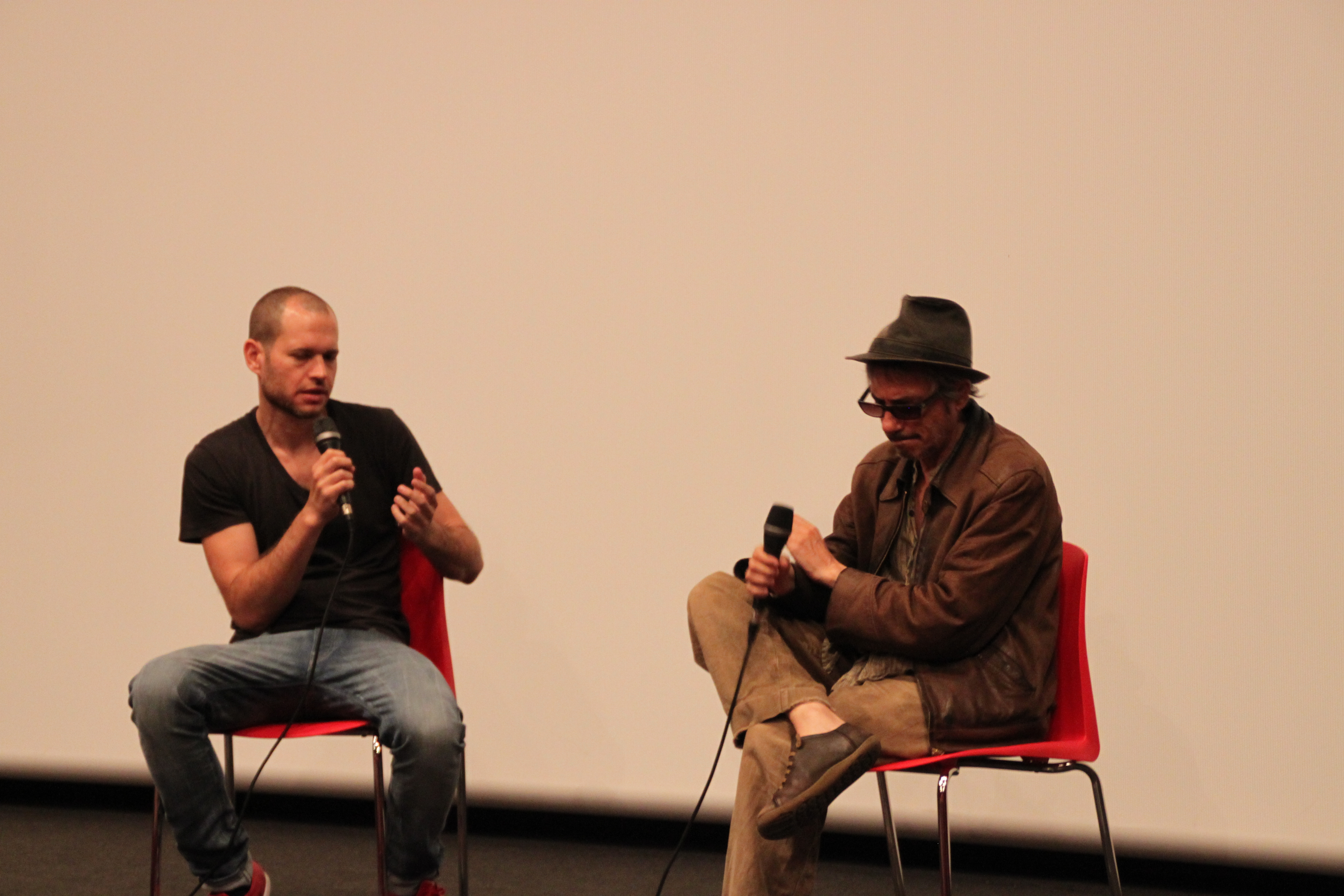 Photo of Leos Carax al TAU Festival